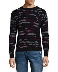 Zadig & Voltaire - Camouflage Wool-cashmere Jumper - Lyst
