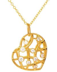 Hearts On Fire - 18k 0.35 Ct. Tw. Diamond Necklace - Lyst