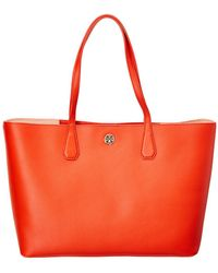 6cc57df35ab9 Tory Burch - Brody Leather Tote - Lyst