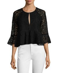 Likely - Avers Lace Top - Lyst