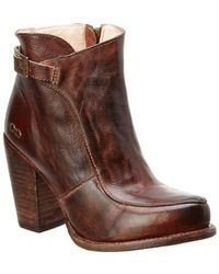 Bed Stu - Isla Leather Bootie - Lyst