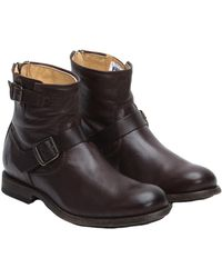 Frye - Men's Tyler Leather Engineer Boot - Lyst