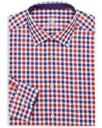 Bugatchi - Check Dress Shirt - Lyst