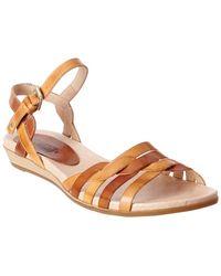Pikolinos - Alcudia Leather Sandal - Lyst