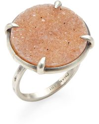 Chan Luu - Agate Disc Statement Ring - Lyst