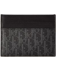 Dior - Canvas Card Holder - Lyst
