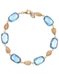 Effy - Fine Jewellery 14k 29.00 Ct. Tw. Blue Topaz Bracelet - Lyst