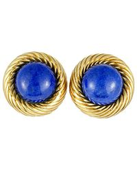 Heritage Tiffany & Co. - Tiffany & Co. 18k Lapis Lazuli Earrings - Lyst
