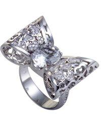 Pasquale Bruni - 18k 0.30 Ct. Tw. Diamond & Topaz Ring - Lyst