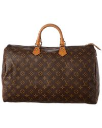 Louis Vuitton - Monogram Canvas Speedy 40 - Lyst