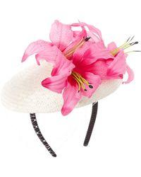 Kathy Jeanne - Floral Fancy Hat - Lyst