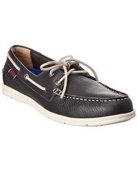 Sebago Naples Leather Boat Shoe
