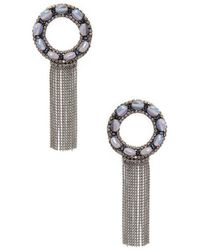 Deepa Gurnani - Natura Statement Earrings - Lyst