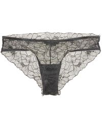 Samantha Chang - Glamour Lace Brief - Lyst
