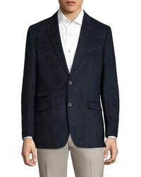 Tommy Hilfiger - Sueded Notch Lapel Sportcoat - Lyst