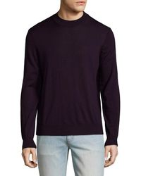 Tocco Toscano - Wool Mock Neck Sweater - Lyst
