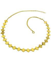 Charlene K - 14k Over Silver Necklace - Lyst