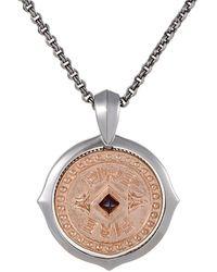 Stephen Webster - Silver Garnet Necklace - Lyst