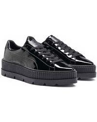74fe8755dbaf72 PUMA - Fenty X Pointy Creeper Patent Sneaker - Lyst