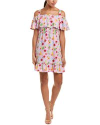 Romeo and Juliet Couture - Floral Shift Dress - Lyst