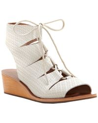 Lucky Brand - Gizi Leather Sandal - Lyst