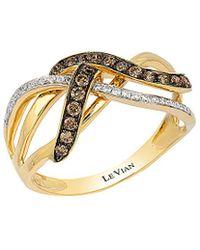 Le Vian - ® Chocolatier® 14k 0.33 Ct. Tw. Diamond Ring - Lyst