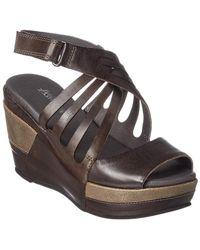 Antelope - 627 Leather Wedge Sandal - Lyst