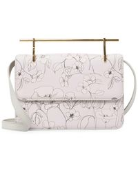 M2malletier - La Fleur Du Mal Leather Shoulder Bag - Lyst