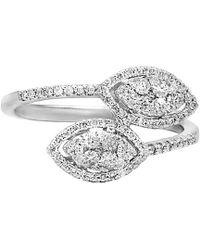 Diana M. Jewels - . Fine Jewellery 18k 0.52 Ct. Tw. Diamond Ring - Lyst