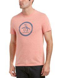 Original Penguin - Graphic T-shirt - Lyst