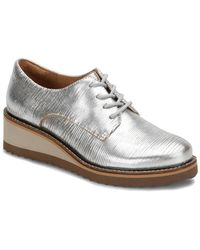 Söfft - Salerno Leather Wedge Oxford - Lyst