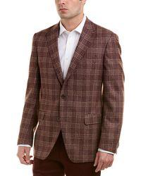 Ike Behar - Classic Fit Wool Sportcoat - Lyst