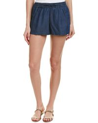 French Connection - Chambray Short - Lyst