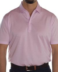 Robert Talbott - Westport Mariner Twill Polo - Lyst