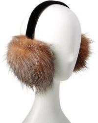 Surell - Surrell Fox Earmuff - Lyst