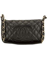 Lyst - Chanel Cc Medallion Tote Bag Shoulderbag Handbag Caviar Skin ... 2e2253b1aa3dd