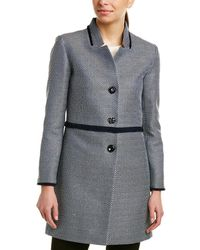 Cinzia Rocca - Icons Tailored Trench Coat - Lyst