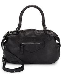 Liebeskind - Berlin Distressed Shoulder Bag - Lyst