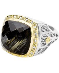 Tacori - 18k & Silver 11.10 Cttw. Diamond & Gemstone Ring - Lyst
