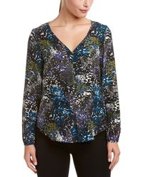 Alice & Trixie - Alice And Trixie Silk Top - Lyst