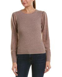Rebecca Taylor - Lurex Wool-blend Pullover - Lyst