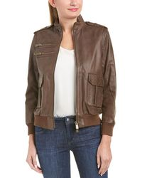 Anine Bing - Pilot Leather Jacket - Lyst