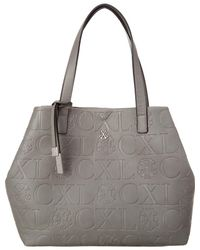 CXL by Christian Lacroix - Coralie Embossed Tote - Lyst