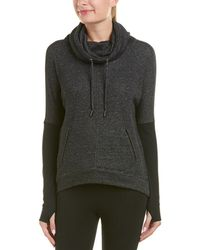 Betsey Johnson - Performance Funnel Neck Pullover - Lyst