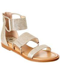 Isola - Shiloh Leather Sandal - Lyst