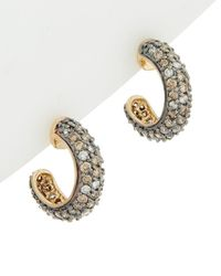 Effy - Fine Jewelry 14k 1.50 Ct. Tw. Diamond Hoops - Lyst