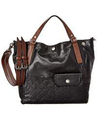 Frye - Samantha Quilted Leather Shoulder Bag - Lyst