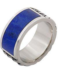Stephen Webster - Men's Silver Lapis Lazuli Ring - Lyst
