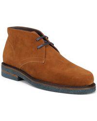 Donald J Pliner - Levi (black Calf Suede) Men's Shoes - Lyst