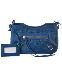 Balenciaga - Classic Hip Small Leather Crossbody - Lyst